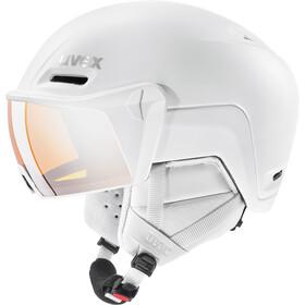 UVEX hlmt 700 Visor Helm, white mat